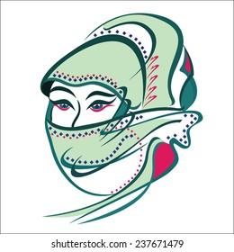 Arabian Woman Eyes