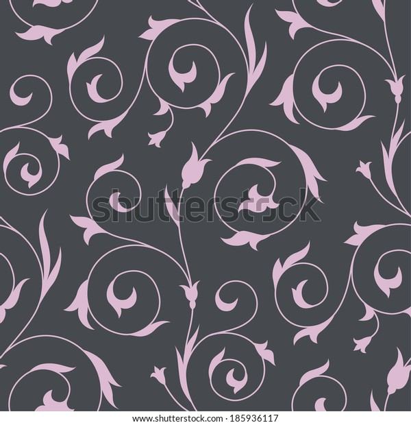 Arabic floral seamless pattern for your design
