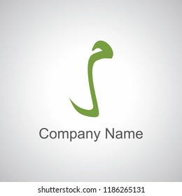arabic letter logo mim