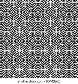 An arabic style vector pattern