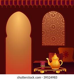 Arabic Tea Room.