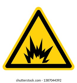 Arc Flash Hazard Symbol Sign, Vector Illustration, Isolate On White Background Label .EPS10
