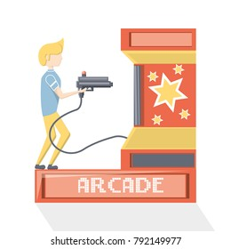 arcade video game design