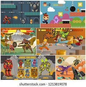 arcade videogames collections