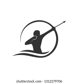 archer logo template
