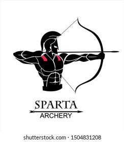 archer sparta, trojan warrior with the arch, warrior archery