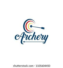Archery Logo Design Template