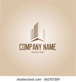 Architect Construction building Idea - vector logo