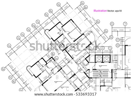 Architectural Background Architectural Plan Construction Drawing