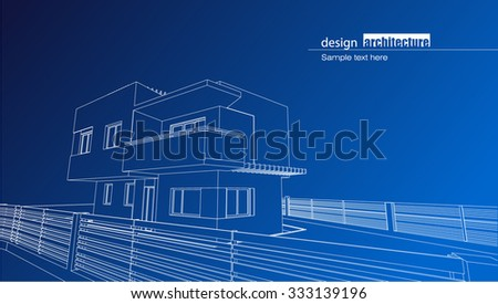 modern architecture blueprints royalty free architectural blueprint of the residence house as modern architectural design blueprint residence house modern stock