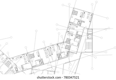 architectural building drawings
