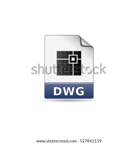 Architectural Drawing Icon Color House Interior Stock Vector