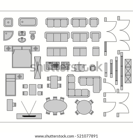 drawing furniture plans. Architectural Drawing For Planning Construction And Home Improvement.  Symbols Used Furniture Architecture Plans Icons R