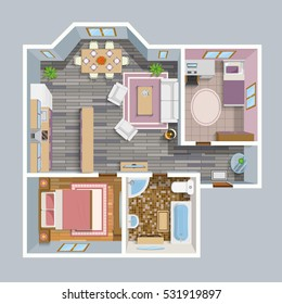 1000 House Top View Stock Images Photos Vectors
