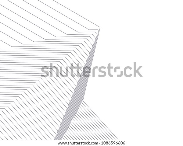 architecture geometric background