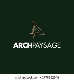 Architecture Logo Design landscape Paysage icons