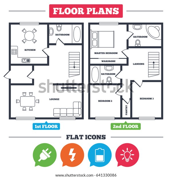 electrical plan light symbol architecture plan furniture house floor plan stock vector  royalty  furniture house floor plan stock vector