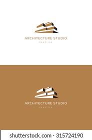 Architecture studio logo template.