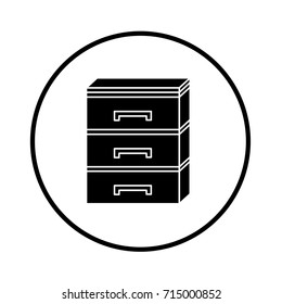 archive cupboard icon