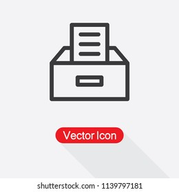 Archive Icon Vector Illustration Eps10