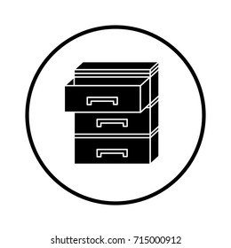 archive open icon