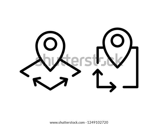 area icon vector illustration stock vector royalty free 1249102720 https www shutterstock com image vector area icon vector illustration 1249102720