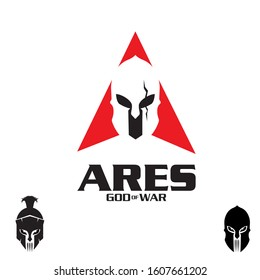 Ares a letter based A vector  from Greek god of war