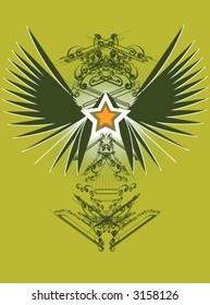 aristocratically vintage emblem