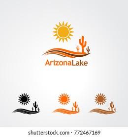 Arizona Like logo vector for business