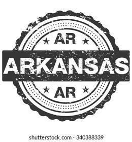 Arkansas Grunge Stamp / Badge