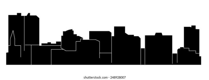 Arlington, Texas (city skyline)
