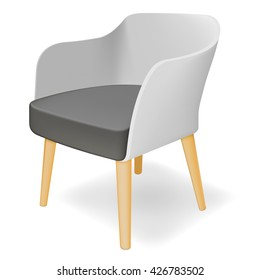 Armchair. Vector illustration