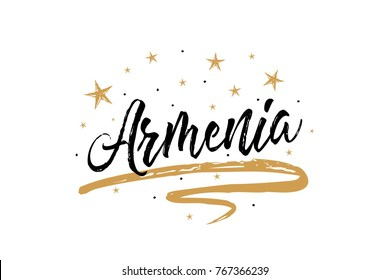 Armenian holidays images stock photos vectors shutterstock armenia name country word text card banner script beautiful typography inscription greeting calligraphy m4hsunfo