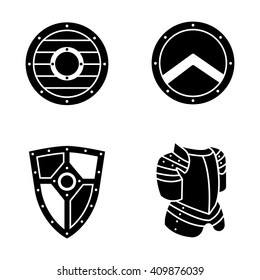 Armor vector icons