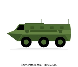armored personnel carrier or armored fighting vehicle