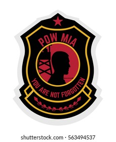 army badge typography, t-shirt graphics, vectors
