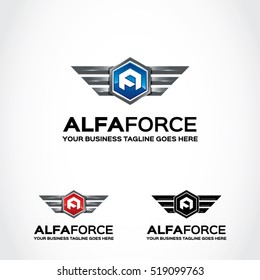 Army Force Logo Template