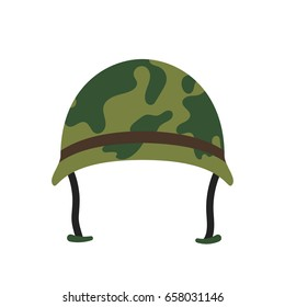 Army hat vector icon