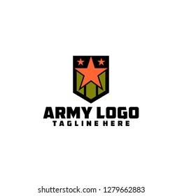 Army Logo Template
