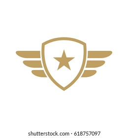 Army and military logo vector