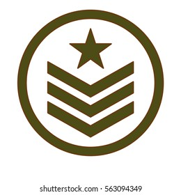 army related  emblem image vector illustration design