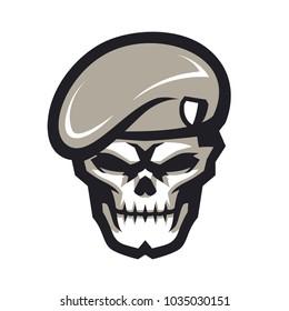 Army Skull E Sport Logo