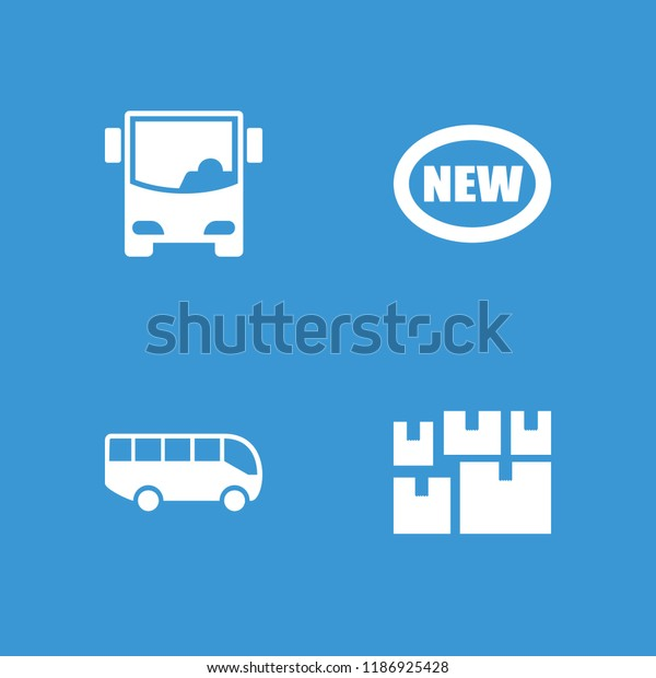Arrival Icon Collection 4 Arrival Filled Royalty Free Stock Image