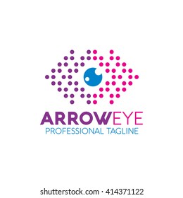 Arroe Eye Logo Template