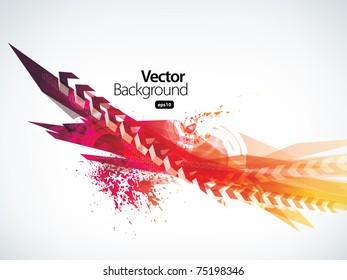 arrow business background