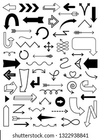Arrow Clipart in various styles