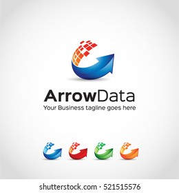 Arrow Data Logo Template...