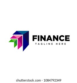 Arrow up finance logo