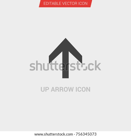 f6c6b602548d Arrow Icon Dark Grey New Trendy Stock Vector (Royalty Free ...