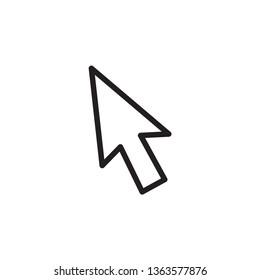 Arrow icon ,mouse icon